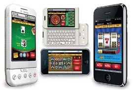You can play mobile casino games on almost every mobile phone